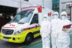 Seoul Operates Emergency Medical Services for COVID-19 As of March 6, Seoul Metropolitan Fire & Disaster Headquarters has transported a total of 1,393 patients with COVID-19 symptoms using 119 emergency medical services. Among them, seven cases have been confirmed. ※ Records of 119 Response Related to COVID-19 (Period: Feb. 22-Mar. 6) Records of 119 Response Related to COVID-19 Category Total Febr...