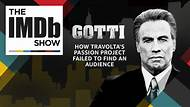 The IMDb Show -- Devised as John Travolta's awards contender, 'Gotti' opened in 11th place the weekend of June 16, while Pixar broke records with 'Incredibles 2,' which grossed over $182 million. Though 'Gotti' had a tiny $10 million budget, its $1.7 million opening is among the lowest in Travolta's 40-year film career, in which he has grossed $1 billion. All things being equal, the film was only offered in 503 U.S. theaters compared to the 3,000 to 4,000 that most wide releases receive.