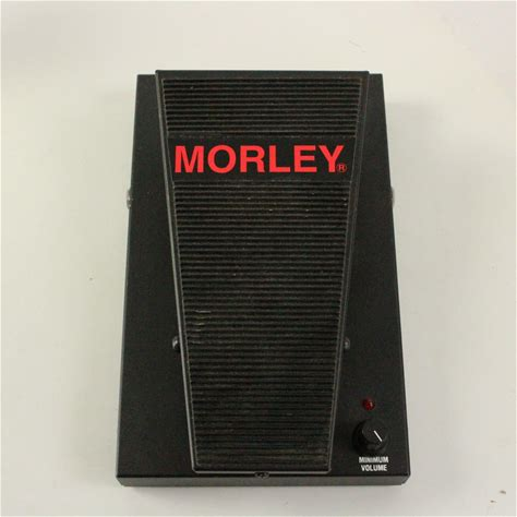 Used Morley PVO PRO SERIES VOLUME Guitar Effects Wah and Filter