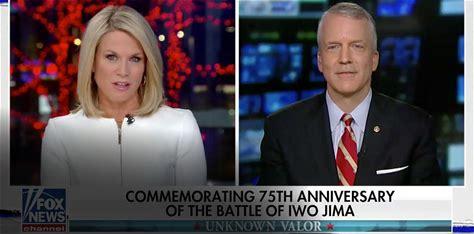 Sullivan Discusses Iwo Jima 75th Anniversary on Fox News