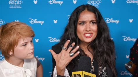 IMDb on the Scene -- From D23 Expo 2019, Salma Hayek, Barry Keoghan, Kumail Nanjiani, Brian Tyree Henry, Dong-seok Ma, Lauren Ridloff, and Lia McHugh give IMDb details about their immortal characters, who are set to debut in the Marvel Cinematic Universe in Nov. 2020.