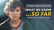 """So Far -- What will the kids of Hawkins, Indiana face down next? Here's what we know about """"Stranger Things"""" Season 3 so far."""