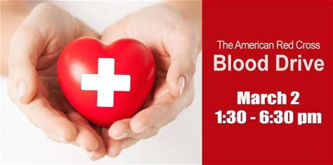 See Details Red Cross Blood Drive