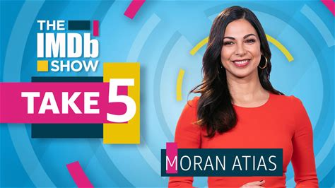 """The IMDb Show -- Moran Atias, star of the new NBC series """"The Village,"""" reveals that she is a total George Costanza, explains why 'A Star Is Born' always makes her cry, and sings along to """"The Fresh Prince of Bel-Air"""" theme song."""