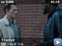 """City of Lies -- L.A.P.D. detective Russell Poole (Johnny Depp) has spent years trying to solve his biggest case, the murder of musician The Notorious B.I.G. in the wake of Tupac Shakur's murder. But after two decades, the investigation remains open. """"Jack"""" Jackson (Forest Whitaker), a reporter desperate to save his reputation and career, is determined to find out why. In search of the truth, the t..."""