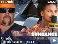 The IMDb Studio at Sundance -- Kevin Smith passes around the IMDb Snow Hat at Sundance 2019 to hear which celebrities certain stars would most love to be snowed in with. Idris Elba comes to mind for some.