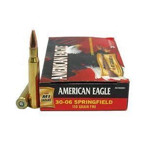 Federal American Eagle 30-06 Sprg. 150GR FMJ 20Rds