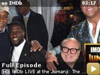 IMDb LIVE at the Jumanji: The Next Level Premiere -- Dave Karger is on the ground with IMDb capturing all the action at the 'Jumanji: The Next Level' live world premiere in Hollywood. Don't miss exclusive interviews with Dwayne Johnson, Kevin Hart, Karen Gillan, Jack Black, Nick Jonas, Awkwafina and more.