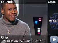 IMDb on the Scene - Interviews -- IMDb sits down with 'Star Wars: The Rise of Skywalker' stars Daisy Ridley, John Boyega, Kelly Marie Tran, Naomi Ackie, Keri Russell, Anthony Daniels, and Joonas Suatomo about some of the creative acting problems they were most excited to figure out with director J.J. Abrams.