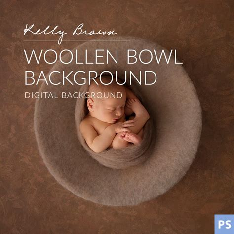 Woollen Bowl Digital Background