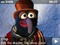 The Muppet Christmas Carol -- Clip: Rizzo Jumps