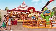 Jessie's Critter Carousel Saddle up for a whimsical spin on the newly reimagined attraction featuring Toy Story 2 's cowgirl Jessie and her animal pals!