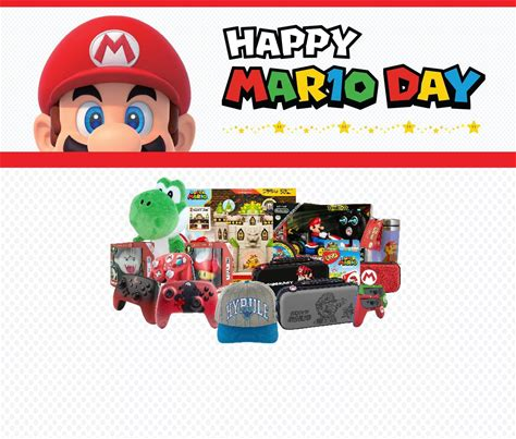 Mario Day Sale Save on Games, Collectibles, & Accessories