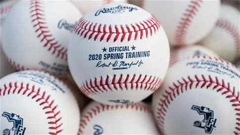 MLB delays Opening Day, cancels spring training games Major League Baseball announced Thursday that Opening Day will be pushed back at least two weeks | 6 hours ago
