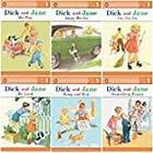Dick and Jane Level 1 Readers - Complete Set of 6 Children's Books Ages 3-5