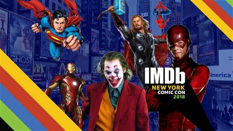 IMDb at New York Comic Con -- David Harbour, Kiernan Shipka, Jon Hamm, and other stars play a round of our IMDb Pizza Game and reveal which superhero (and in some cases, villain) they would want as their New York City tour guide.
