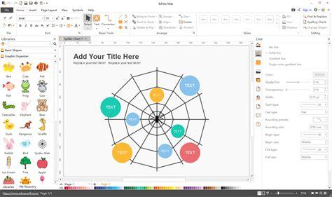 graphic organizer software graphic organizer maker