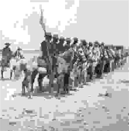 Buffalo soldiers of the 9th Cavalry during the Spanish-American War, 1898.