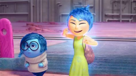 Inside Out -- When a young girl named Riley is uprooted from her Midwestern lifestyle and moves to the busy and chaotic San Francisco, her emotions; Anger, Sadness, Disgust, Fear, and (her most important emotion) Joy, start to disagree on how to deal with this dramatic change, which causes problems up in Headquaters, the central living and working place for the five emotions.