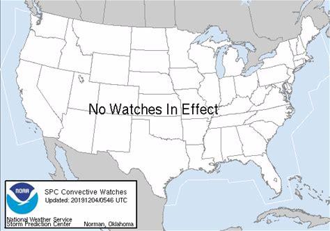 Severe Thunderstorm/Tornado Watches