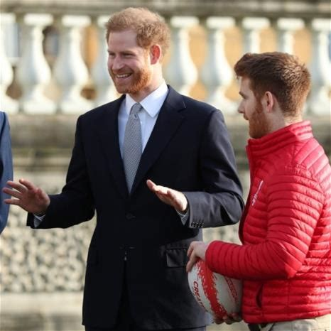 The Duke of Sussex hosts The Rugby League World Cup Draw live from Buckingham Palace Published 16 January 2020