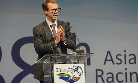 馬會在第38屆亞洲賽馬會議上介紹從化馬場的重要角色 在南非開普敦舉行的第38屆亞洲賽馬會議探討了香港賽馬會從化馬場如何促進中國賽馬業的發展。