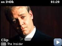 The Insider -- Clip: I Think It's Worth It