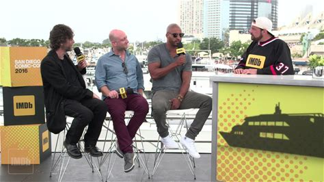 """IMDb at San Diego Comic-Con -- Kevin Smith sits down with """"American Gods"""" star Ricky Whittle, creator Michael Green, and source material author Neil Gaiman to talk about how Whittle scored the role and how Gaiman feels about seeing his work come to life."""