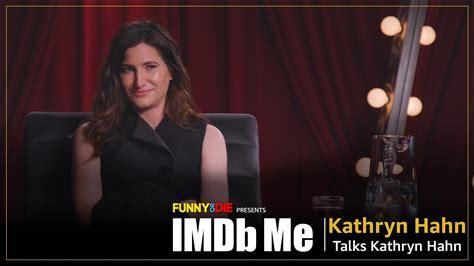IMDb Me -- Kathryn Hahn IMDbs herself.
