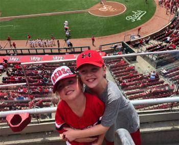 Play Ball! Cincinnati Reds Baseball
