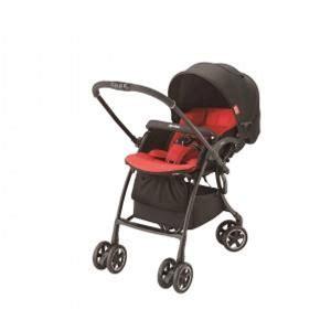 Aprica LUXUNA Comfort 自動四輪雙向嬰幼兒手推車 (紅色)