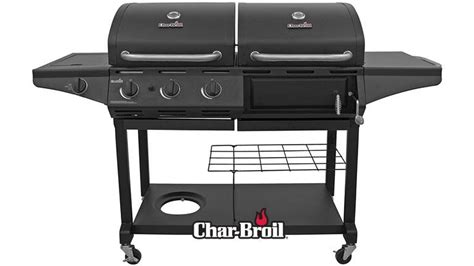 GAS/CHARCOAL COMBO GRILL