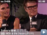 IMDb at the Oscars -- Television stars Lisa Rinna and Harry Hamlin give Aisha Tyler and Dave Karger an inside look at the goings-on at IMDb LIVE at the Elton John AIDS Foundation Academy Awards Viewing Party, including spotting legend Diana Ross.
