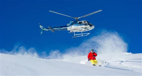 Wide-open terrain, endless untracked powder and zero lift lines; heli-skiing is the ultimate ski snowboard experience.