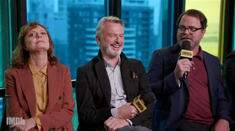 IMDb at Toronto International Film Festival -- Susan Sarandon, Sam Neill, Rainn Wilson, and director Roger Michell get into the nooks and crannies of their family drama 'Blackbird' and share why their story about death is really an exploration of what it is to live.