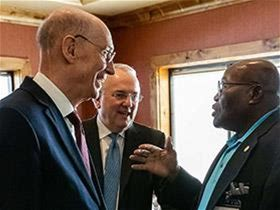 President Eyring Ministers in Idaho