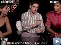 IMDb on the Scene - Interviews -- Kristen Stewart, Naomi Scott, Ella Balinska, and Elizabeth Banks decide which one of the Angels would reign supreme in different cinematic spy scenarios.