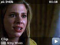 Army Wives -- Clip: You Don't Care About Me