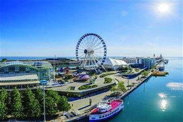Chicago's Navy Pier Centennial Wheel Ticket