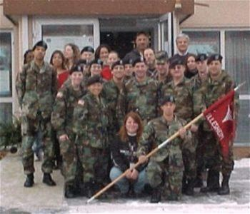 USAG Ansbach Army Base in Ansbach, Germany