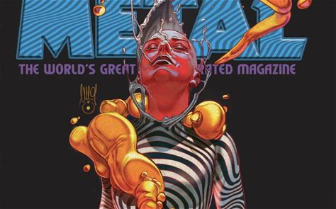 Heavy Metal 299 Now Available for Pre-order! [16-Page Preview]