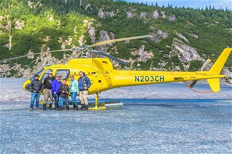 Air, Helicopter & Balloon Tours Juneau Shore Excursion: Helicopter Tour and Icefield Walk While in port in Juneau, take