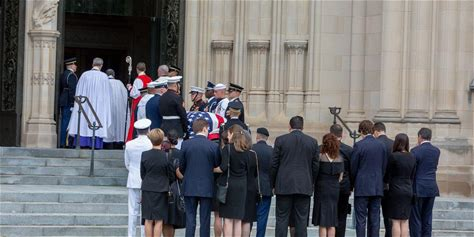 See Cindy, Meghan, and the McCain Family at John McCain's Funeral