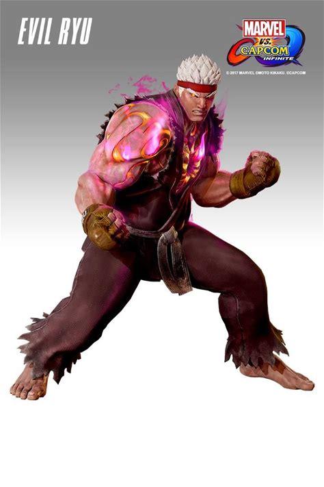 Marvel vs. Capcom: Infinite - Evil Ryu Costume