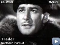 Northern Pursuit -- Trailer for this arctic adventure tale