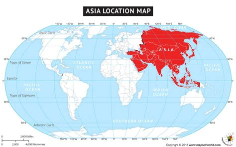 Where is Asia