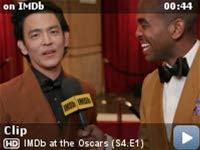 """IMDb at the Oscars -- On the red carpet at the 2020 Oscars, John Cho teases the style of """"Cowboy Bebop,"""" the upcoming live-action adaptation of the wildly popular anime series that's coming to Netflix."""