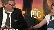 IMDb on the Scene -- IMDb chats with director Steven Spielberg about his latest film 'The BFG,' along with stars Ruby Barnhill, Mark Rylance, Rebecca Hall, and Penelope Wilton.