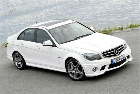 Gallery: Mercedes Benz C63 AMG in white