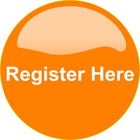 Orange Button Register Here Clip Art at Clker.com - vector ...
